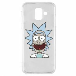 Чехол для Samsung A6 2018 Crazy Rick
