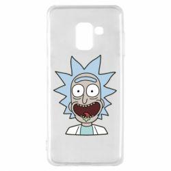 Чехол для Samsung A8 2018 Crazy Rick