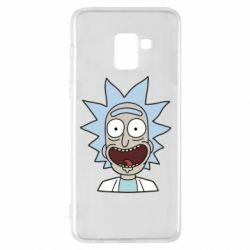 Чехол для Samsung A8+ 2018 Crazy Rick