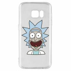 Чехол для Samsung S7 Crazy Rick