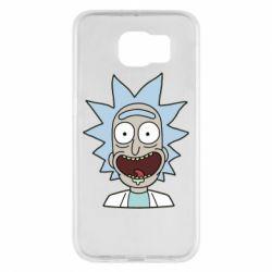 Чехол для Samsung S6 Crazy Rick