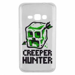 Чехол для Samsung J1 2016 Creeper Hunter