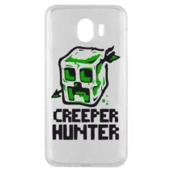 Чехол для Samsung J4 Creeper Hunter