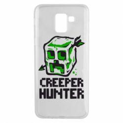 Чехол для Samsung J6 Creeper Hunter