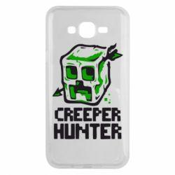 Чехол для Samsung J7 2015 Creeper Hunter