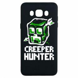Чехол для Samsung J7 2016 Creeper Hunter