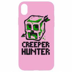 Чехол для iPhone XR Creeper Hunter
