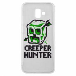 Чехол для Samsung J6 Plus 2018 Creeper Hunter