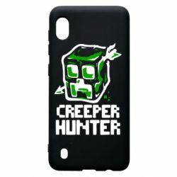 Чехол для Samsung A10 Creeper Hunter