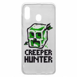 Чехол для Samsung A20 Creeper Hunter