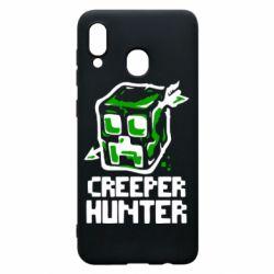Чехол для Samsung A30 Creeper Hunter
