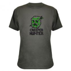 Камуфляжная футболка Creeper Hunter - FatLine