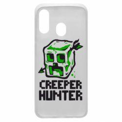 Чехол для Samsung A40 Creeper Hunter