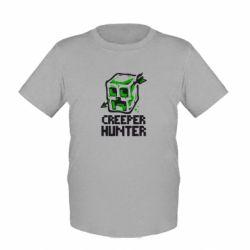 Детская футболка Creeper Hunter