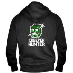 Мужская толстовка на молнии Creeper Hunter - FatLine