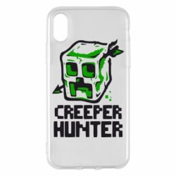 Чехол для iPhone X/Xs Creeper Hunter