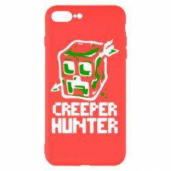 Чехол для iPhone 8 Plus Creeper Hunter