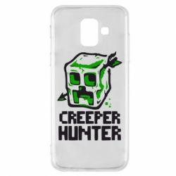 Чехол для Samsung A6 2018 Creeper Hunter