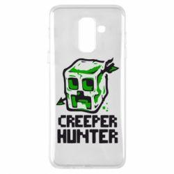 Чехол для Samsung A6+ 2018 Creeper Hunter