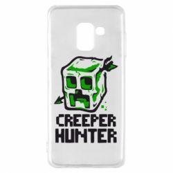 Чехол для Samsung A8 2018 Creeper Hunter