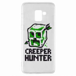 Чехол для Samsung A8+ 2018 Creeper Hunter