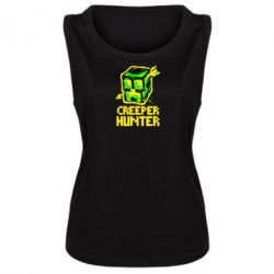 Женская майка Creeper Hunter