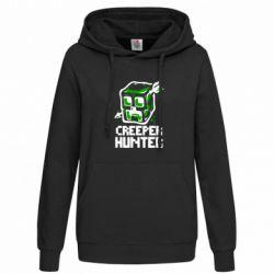Женская толстовка Creeper Hunter