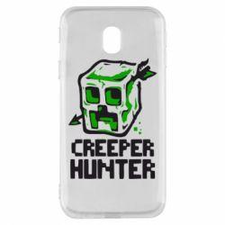 Чехол для Samsung J3 2017 Creeper Hunter