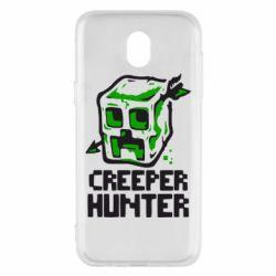 Чехол для Samsung J5 2017 Creeper Hunter