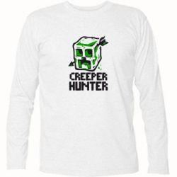 Футболка с длинным рукавом Creeper Hunter