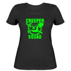 Женская футболка Creeper Squad - FatLine