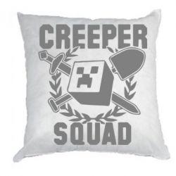 Подушка Creeper Squad