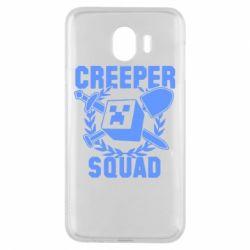 Чохол для Samsung J4 Creeper Squad