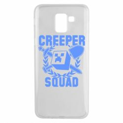 Чохол для Samsung J6 Creeper Squad