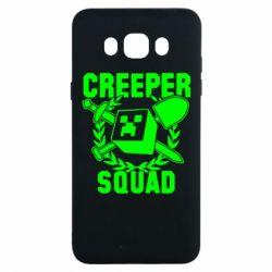 Чохол для Samsung J7 2016 Creeper Squad