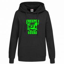 Женская толстовка Creeper Squad - FatLine