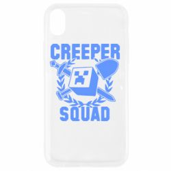 Чехол для iPhone XR Creeper Squad