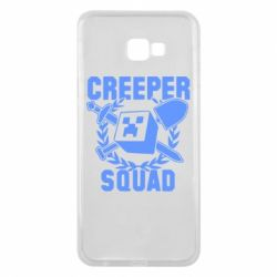 Чехол для Samsung J4 Plus 2018 Creeper Squad