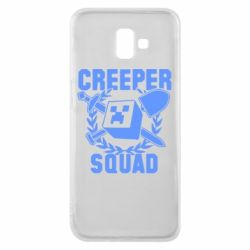 Чехол для Samsung J6 Plus 2018 Creeper Squad