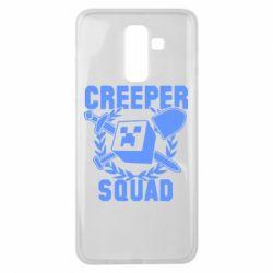 Чохол для Samsung J8 2018 Creeper Squad