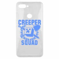 Чохол для Xiaomi Mi8 Lite Creeper Squad