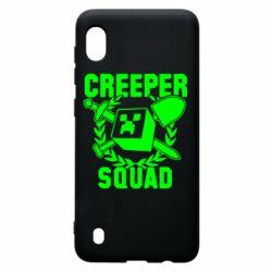 Чохол для Samsung A10 Creeper Squad