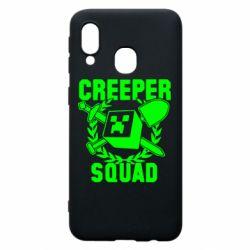 Чохол для Samsung A40 Creeper Squad