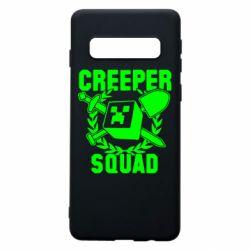 Чохол для Samsung S10 Creeper Squad