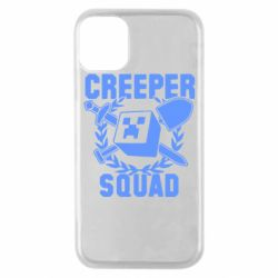 Чехол для iPhone 11 Pro Creeper Squad