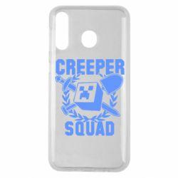 Чохол для Samsung M30 Creeper Squad