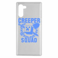 Чехол для Samsung Note 10 Creeper Squad
