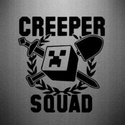 Наклейка Creeper Squad - FatLine