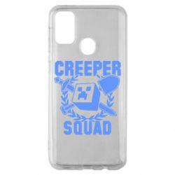 Чохол для Samsung M30s Creeper Squad