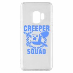 Чохол для Samsung S9 Creeper Squad